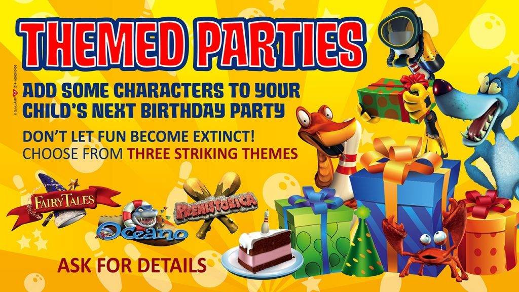 Monterey children's parties feature 3 themes