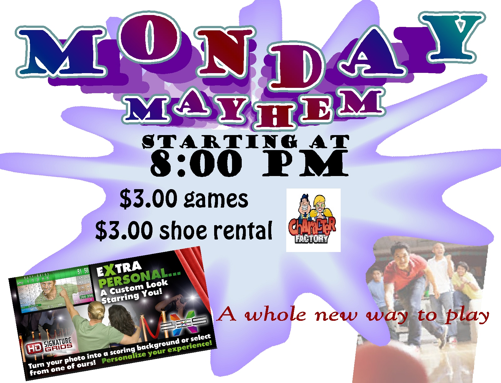 Monday Mayhen