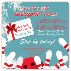 Holiday Gift Card Special Monterey, CA