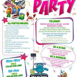 All the details for Children's Parties